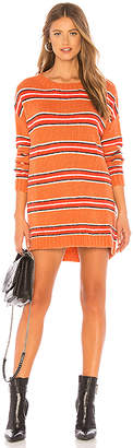 For Love & Lemons Charlie Striped Sweater Dress