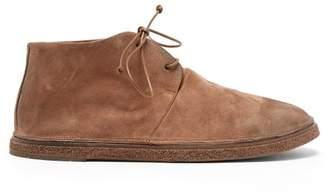 Marsèll Pomicino Suede Boots - Mens - Brown