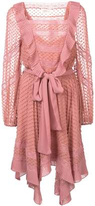 Zimmermann Embroidered Smock Dress