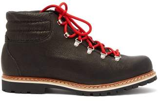 Montelliana - Alberto Lace Up Leather Boots - Mens - Black