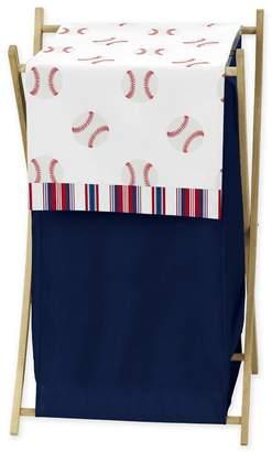 JoJo Designs Sweet Baseball Patch Laundry Hamper Set