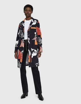 Calvin Klein Jeans Est. 1978 Printed Staff Coat