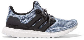 adidas Parley For The Oceans Ultraboost Rubber-trimmed Primeknit Sneakers - Blue