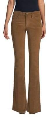 Frame Women's Le High Flare Corduroy Pants - Warm Tan - Size 25 (2)