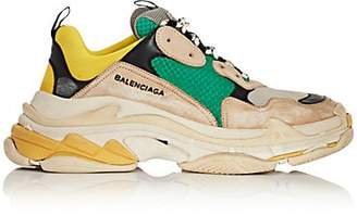 Balenciaga Men's Triple S Sneakers - Gray