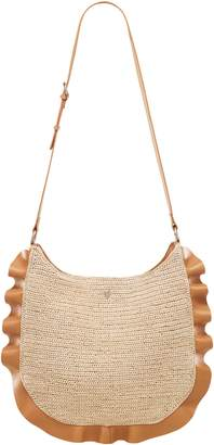 Helen Kaminski Andalusia Raffia & Leather Hobo