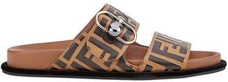 Fendi FF double strap sandals