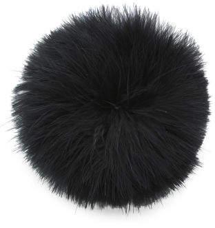 Feather Pom Ponytail Holder