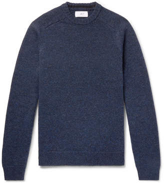 Mr P. Shetland Virgin Wool Sweater