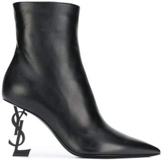 Saint Laurent Opyum ankle boots