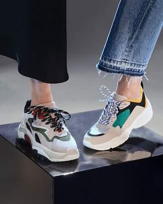 KENDALL + KYLIE Women's KK Focus Low-Top Dad Sneakers