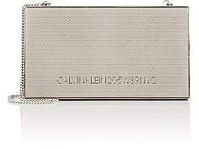 Calvin Klein Women's Metal Box Bag - Silver