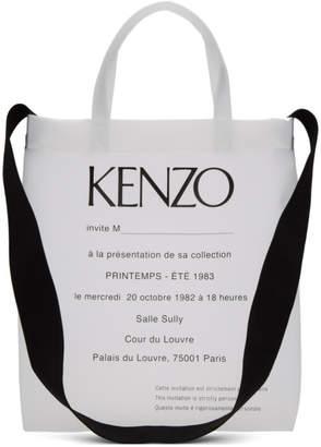 Kenzo Transparent Invitation Tote