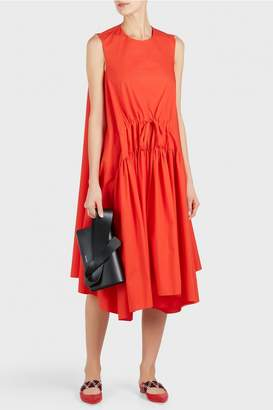 DELPOZO Poplin Tunic Dress