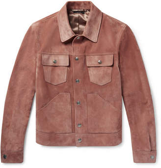 Tom Ford Slim-Fit Suede Jacket