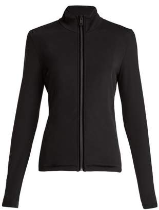 Fendi Roma Zip Up Jacket - Womens - Black