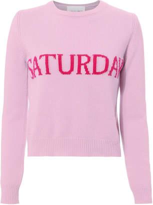 Alberta Ferretti Saturday Pink Sweater