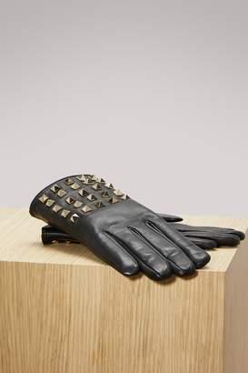 Valentino Studs Gloves