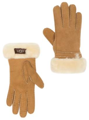 UGG Genuine Dyed Shearling Bronte Gloves