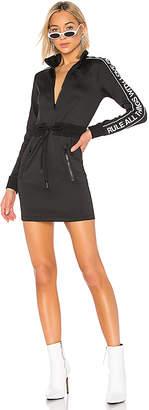 Pam & Gela Logo Sportstripe Track Dress