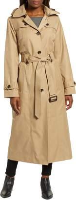 London Fog Jill Long Trench Coat