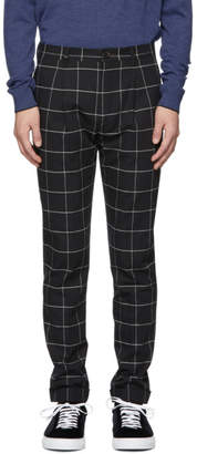 Paul Smith Black Turn-Up Trousers