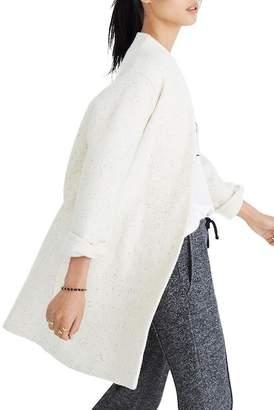 Madewell Langley Wool Blend Swing Coat