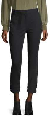 Tibi Women's Anson Stretch Skinny Pants - Black - Size 10