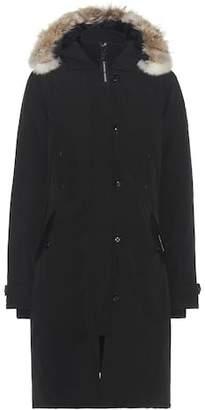 Canada Goose Kensington down coat with fur-trimmed hood
