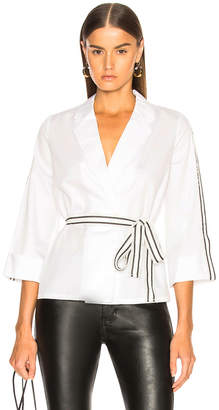 Alexis Madelyn Top in White | FWRD