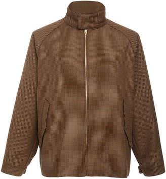 Camoshita No-Collar Zip Jacket