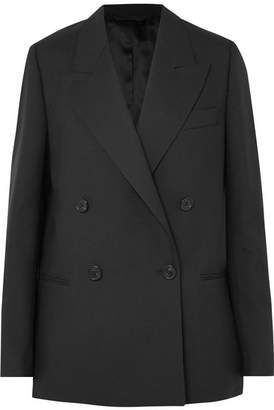 Acne Studios Double-breasted Wool Blazer - Black