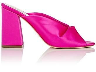 Loeffler Randall Women's Laurel Satin Mules - Pink