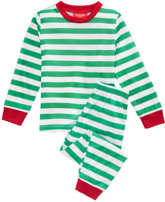 Matching Family Pajamas Holiday Stripe Pajama Set, Available in Toddler and Kids
