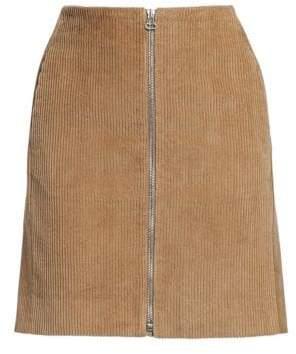 Rag & Bone Rag& Bone Rag& Bone Women's Heidi Corduroy Mini Skirt - Camel - Size 27 (4)