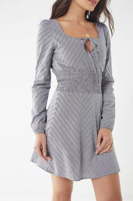 Lioness Wrong Goodbye Tie-Front Dress
