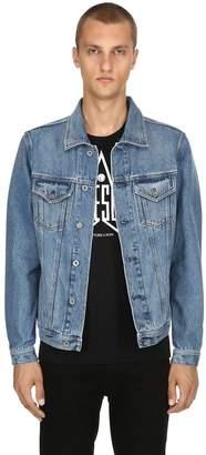 Diesel Cotton Denim Shirt Jacket