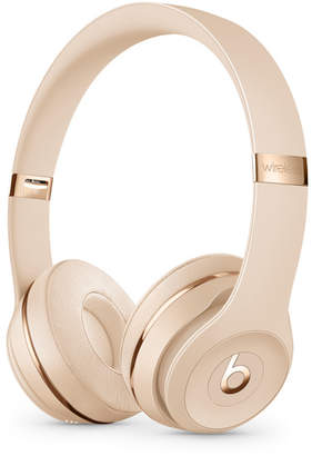 Apple Beats Solo3 Wireless On-Ear Headphones - Satin Gold