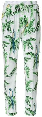 Stella McCartney tropical print trousers