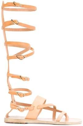 Ancient Greek Sandals Alethea High flat sandals