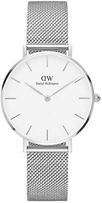 Daniel Wellington Classic Petite Mesh Strap Watch, 32mm