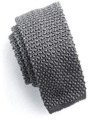 Todd Snyder Classic Silk Knit Tie in Grey