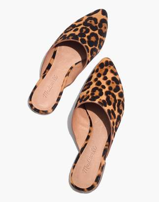 Madewell The Remi Mule in Leopard Calf Hair