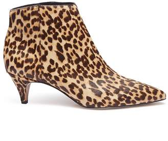 Sam Edelman 'Kinzey' leopard print cow hair booties
