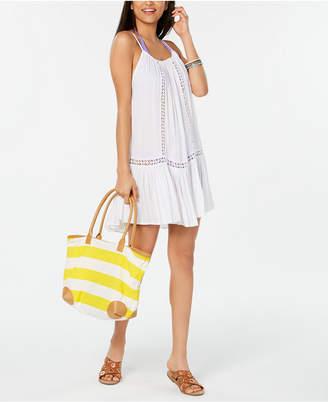 Raviya Crochet-Trim Cover-Up Dress Women Swimsuit