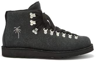 Diemme The Elder Vet Canvas Hiking Boots - Mens - Black