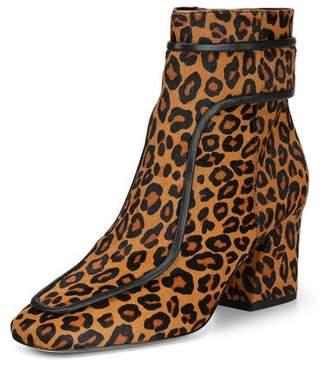 016bfd0a92b Donald J Pliner Geena Leopard Block Heel Booties