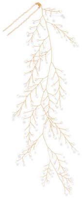 14 / Quatorze - Dewdrop Gold-tone Crystal Hair Pin