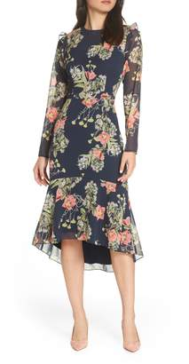 Chelsea28 Floral Ruffle Dress