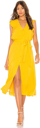 1 STATE Button Down Midi Dress